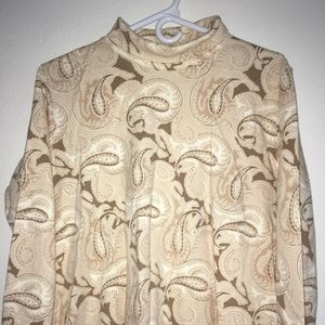 Land's End Long Sleeve Top, Size L/P